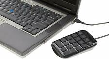 Targus Numeric Keypad with 3 Feet USB Cord, Black
