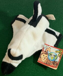 """K&M Int'l 1997 United States NASA Space Shuttle Plush 8"""" wide with Original Tag!"""