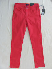 NYDJ Not Your Daughter's Jeans Sheri Skinny-Candy Apple Red -Size 4 - NWT $120
