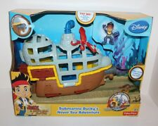 Jake & The Never Land Pirates Submarine Bucky's Never Sea Adventure Playset New