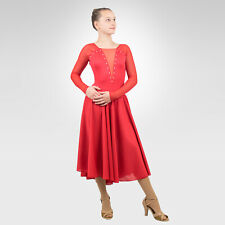 Figure Skating, Ice Dance, Latin Dance, Ballroom red color size XSmall Adult