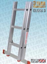 More details for titan competitor aluminium diy extending ladder with stabiliser bar