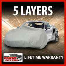 5 Layer Car Cover - Soft Breathable Dust Proof Sun Uv Water Indoor Outdoor 5609