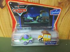 Disney Pixar Cars Diecast Toy Supercharged Movie Moments (New) Buzz and Woody