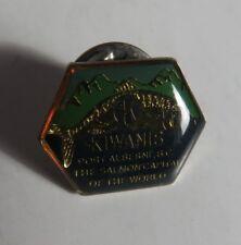 VINTAGE KIWANIS BC SALMON CAPITAL OF THE WORLD PIN                   (INV16841)