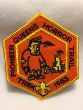 Boy Scouts -  1983 Queens Horror Trail  patch