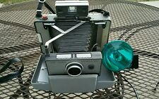 Vintage Polaroid Land Camera Automatic 230 w/ Flash, Instructions & Carry Case
