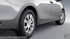 Toyota Corolla Sedan Mudflaps ZRE182 Set of 4 Ascent SX ZR GENUINE NEW