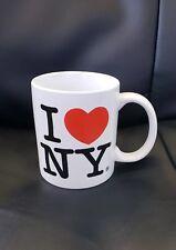 White NYC Classic I Love NY Mug  11oz Licensed I Heart NY Mug from New York City