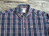 Carhartt [XL] made in USA rugged outdoor wear cotton button down shirt