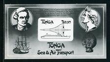 Tonga Scott #536 PROOF BLACK PRINT on Card Stock $$