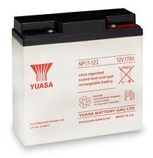 Np17-12 Yuasa 12 Volt 17ah Rechargeable Lead Acid Battery