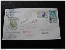 TAAF carta 8/12/91 - sello - yvert y tellier n°155 et 157 (cy5) (A)