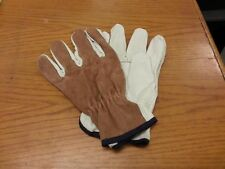 Lot Of 12 Pair Pgrain Drivers Split Back Glove Leather Xl Work Glove 4714Xl