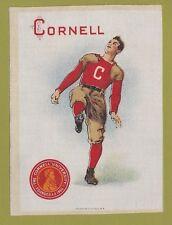 1910 LG Murad tobacco silk S21 CORNELL UNIVERSITY  Football Player   TOUGH