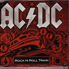 "AC/DC ""Rock n Roll Train"" 1 Track Promo Extreme RARE"