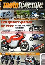MOTO LEGENDE 236 MOTOBECANE 125 MV AGUSTA 750 KAWASAKI Z900 SUZUKI RG HONDA RC30