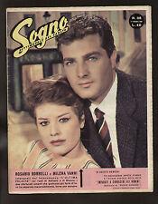 SOGNO 38/1959 VANNI BORRELLI MARLOWA D'ANNUNZIO LOREN LUX SIMMENTHAL BIC ROBERTS