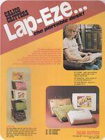 Vintage CALICO CRITTERS - LAP-EZE - ad sheet #0113