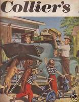 1950 Colliers July 22 -Boy Scouts; Watusi; 1947 Pontiac
