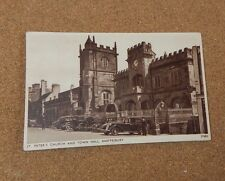 Shaftesbury St Peters Church and Town Hall posted 1944 .Xc2