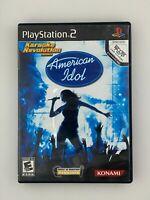 Karaoke Revolution Presents American Idol - Playstation 2 PS2 Game - Complete