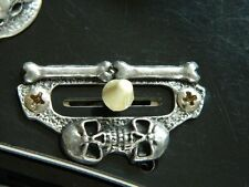 SKULL 3 or 5-WAY BLADE SWITCH COVER fits ESP LTD kh Guitar hand made metal!!