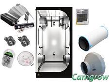 "Grow Tent Kit DR120 - Lumii Digital Black 600W Ram Carbon Filter Kit RVK 5"""