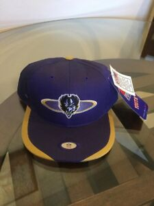 NWT Vintage Baltimore Ravens Purple Sports Specialties Youth Snapback Hat Cap
