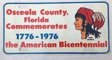 Vintage American License Plate