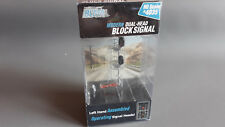 BLMA WORKING BLOCK SIGNAL LEDS EXCELLENT CONDITION BOXED HO OO GAUGE(GF1)