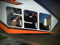 Decal: KTM SMCR / Duke 690 Race numbers sticker Set