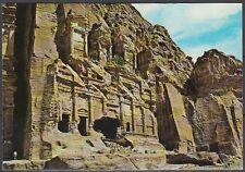 Jordanien Jordan used Post Card Postkarte Landschaft landscape Petra [cm602]