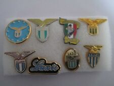 j8 lotto 8 pins lot SS LAZIO FC club spilla football calcio broches pins spille