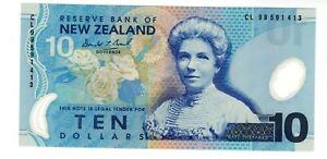 Nouvelle ZELANDE NEW ZEALAND Billet 10 $ 1999 P186a  NEUF UNC