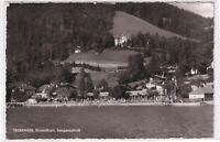 Ansichtskarte Tegernsee - Blick auf das Strandbad und Sengerschloss - s/w