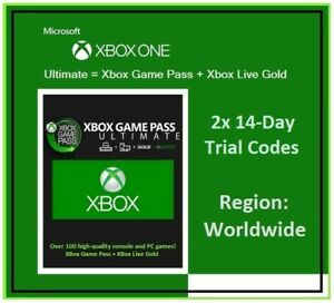 XBOX ULTIMATE GAME PASS + LIVE GOLD - 1 Month (2x 14 Days) - FAST DELIVERY