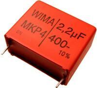WIMA Polypropylen Folienkondensator MKP4 400V 2,2uF 27,5mm 089697