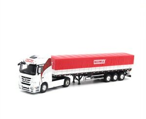 1/50 Mercedes Benz Container Truck Trailer NOMA Brazil Diecast Car Model Toy