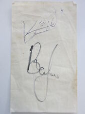 BRIAN JONES & KEITH RICHARDS SIGNED ROLLING STONES + ROGER EPPERSON COA! RARE!