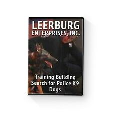 Training Building Search for Police Service Dogs DVD by Leerburg