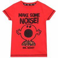 Mr Men T-Shirt | Boys Mr Noisy Tee | Mr Men Top | Mr Men and Little Miss | NEW
