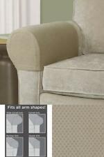Sofa Arm Protectors Armrest Covers Stretchy Set Stretch To Fit Chair 2pcs Set US