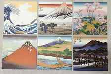 Japanese UKIYOE Chiyogami Papers Origami  24 (6 pattern x 4 each) 5.9x5.9 inch