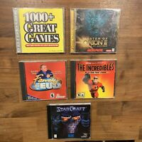 pc game lot Of 5 Games