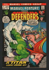 MARVEL FEATURE PRESENTS THE DEFENDERS #3, 1972, FN CONDITION COPY
