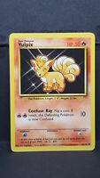 Vulpix 68 Base Set Common Pokemon Card Near Mint