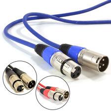 Mikrofon Leitung / Mic-Kabel / XLR Patch-Kabel ausbalanciert Stecker auf Buchse