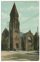 Parkdale Methodist Church Corner Dunn Ave & King St. Toronto Ontario ON Postcard