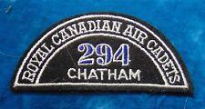 CANADA Royal Canadian Air Cadets CHATHAM 294 squadron shoulder flash